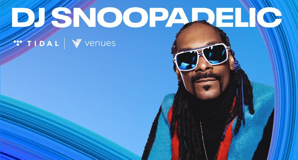 DJ Snoopadelic. TIDAL | Venues